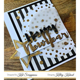 """Happy New Year"" Brush Script Word & Sentiment Die by Kat Scrappiness"