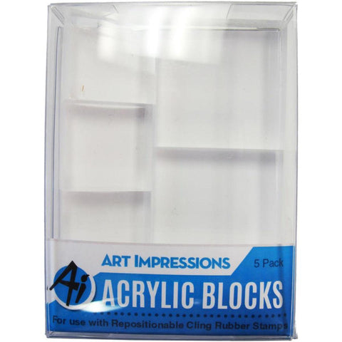 Art Impressions Acrylic Block Set