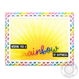 "Sunburst 6""x6"" Embossing Folder by Sunny Studio Stamps - Kat Scrappiness"