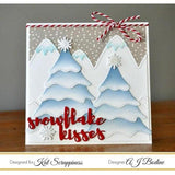 Stitched & Layered Christmas Tree Die by Kat Scrappiness - Kat Scrappiness