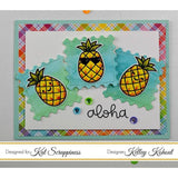 Stitched Postage Stamp Edge Square Dies by Kat Scrappiness - Kat Scrappiness