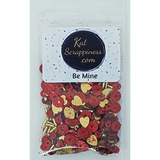 Be Mine Valentine Sequin Mix - Kat Scrappiness