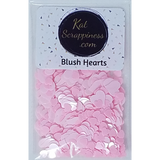 Blush Hearts Sequin Mix - Shaker Card Fillers - NEW! - Kat Scrappiness
