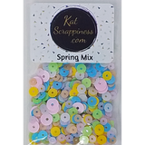 Spring Sequin Mix - Kat Scrappiness