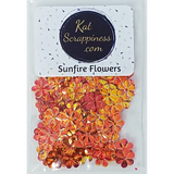 Sunfire Flower Sequins - Kat Scrappiness
