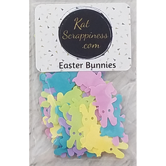 Easter Bunny Sequins - Shaker Card Fillers
