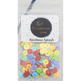Rainbow Splash Sequin Mix - Kat Scrappiness