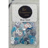 Blue Steel Sequin Mix - Shaker Card Fillers - Kat Scrappiness