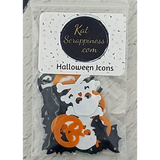 Halloween Icons - Sequins - Kat Scrappiness