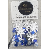 Midnight Snowfall Sequin Mix - Shaker Card Fillers