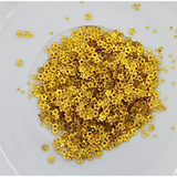 Hollow Gold Star Confetti Mix