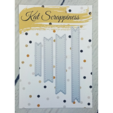 Stitched Fishtail Banner Dies by Kat Scrappiness