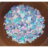 Magical Unicorn Dust - Confetti - Sequins - Shaker Card Fillers