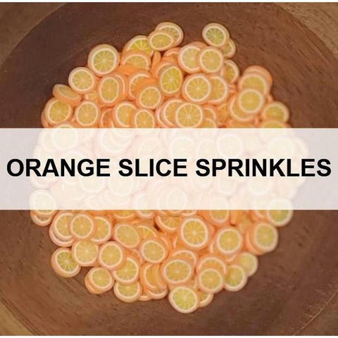 Orange Slice Sprinkles by Kat Scrappiness - Kat Scrappiness