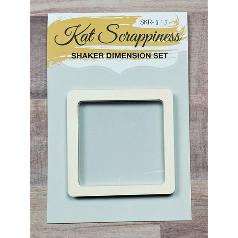 Small Square Shaker Card Kit by Kat Scrappiness - 017