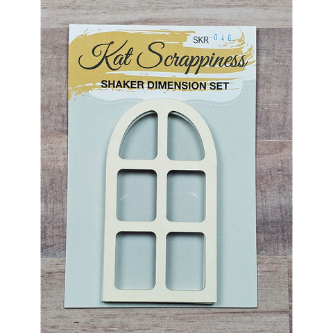 Domed Window Shaker Card Kit by Kat Scrappiness - 046