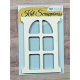 Framed Domed Window Shaker Card Kit by Kat Scrappiness - 047 - Kat Scrappiness