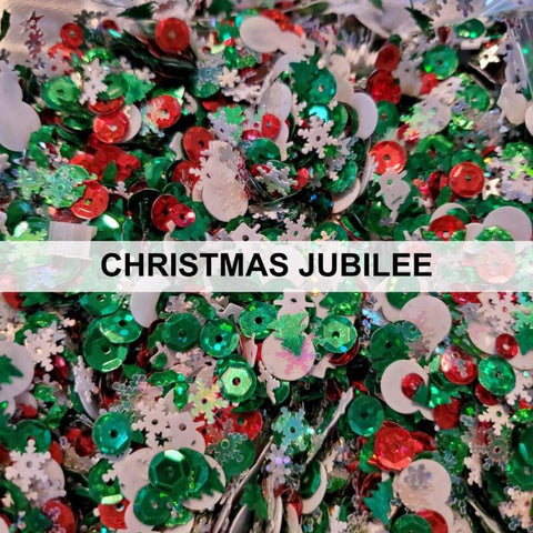 Christmas Jubilee Sequin Mix by Kat Scrappiness