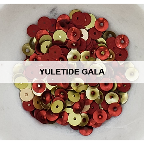 Yuletide Gala Sequin Mix by Kat Scrappiness - Kat Scrappiness