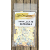 Mini Clear AB Seashell Sequins by Kat Scrappiness - Kat Scrappiness