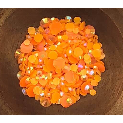 Orange Jewels - Kat Scrappiness