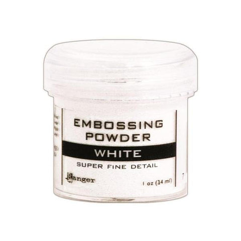 Super Fine White Embossing Powder - Kat Scrappiness