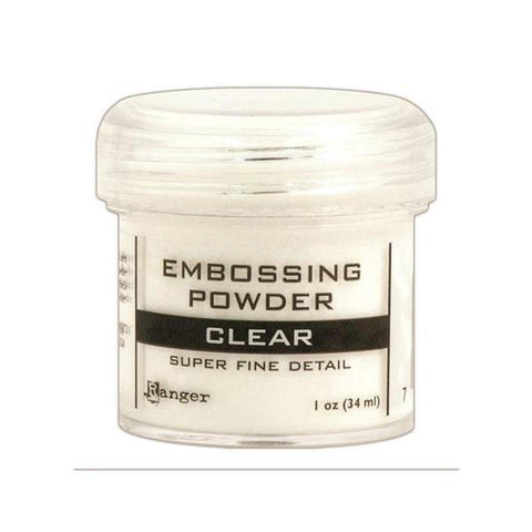 Super Fine Clear Embossing Powder - Kat Scrappiness