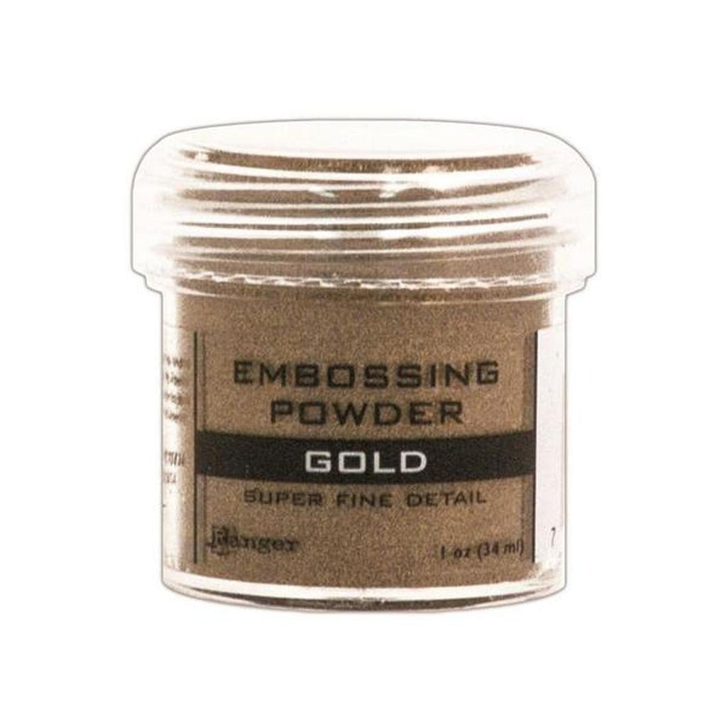 Super Fine Gold Embossing Powder - Kat Scrappiness