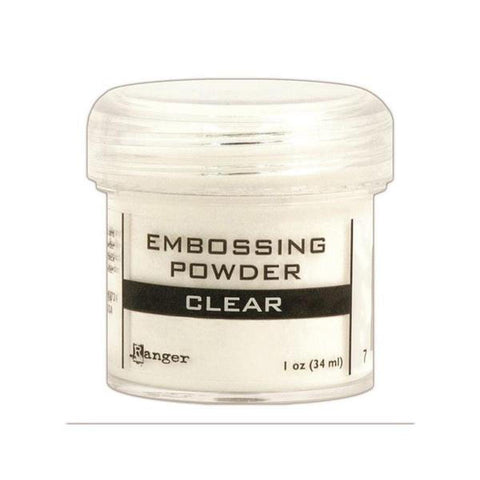 Clear Embossing Powder - Kat Scrappiness