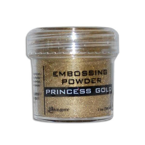 Princess Gold Embossing Powder - Kat Scrappiness