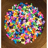 Birthday Cake Sprinkles Embellishment Mix