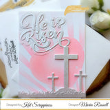 He is Risen w/Shadow Die by Kat Scrappiness - Kat Scrappiness