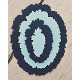 Distressed Edge Oval Dies by Kat Scrappiness - Kat Scrappiness