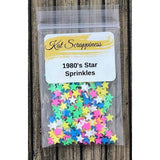 1980's Star Sprinkles - Kat Scrappiness