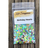 Rainbow Hearts Sequin Mix - Kat Scrappiness