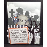 Adult Halloween Cling Stamp by Riley & Co