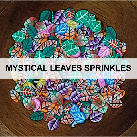 Mystical Leaves Sprinkles - Kat Scrappiness