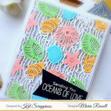 Under The Sea Coverplate Die by Kat Scrappiness - New & Improved! - Kat Scrappiness