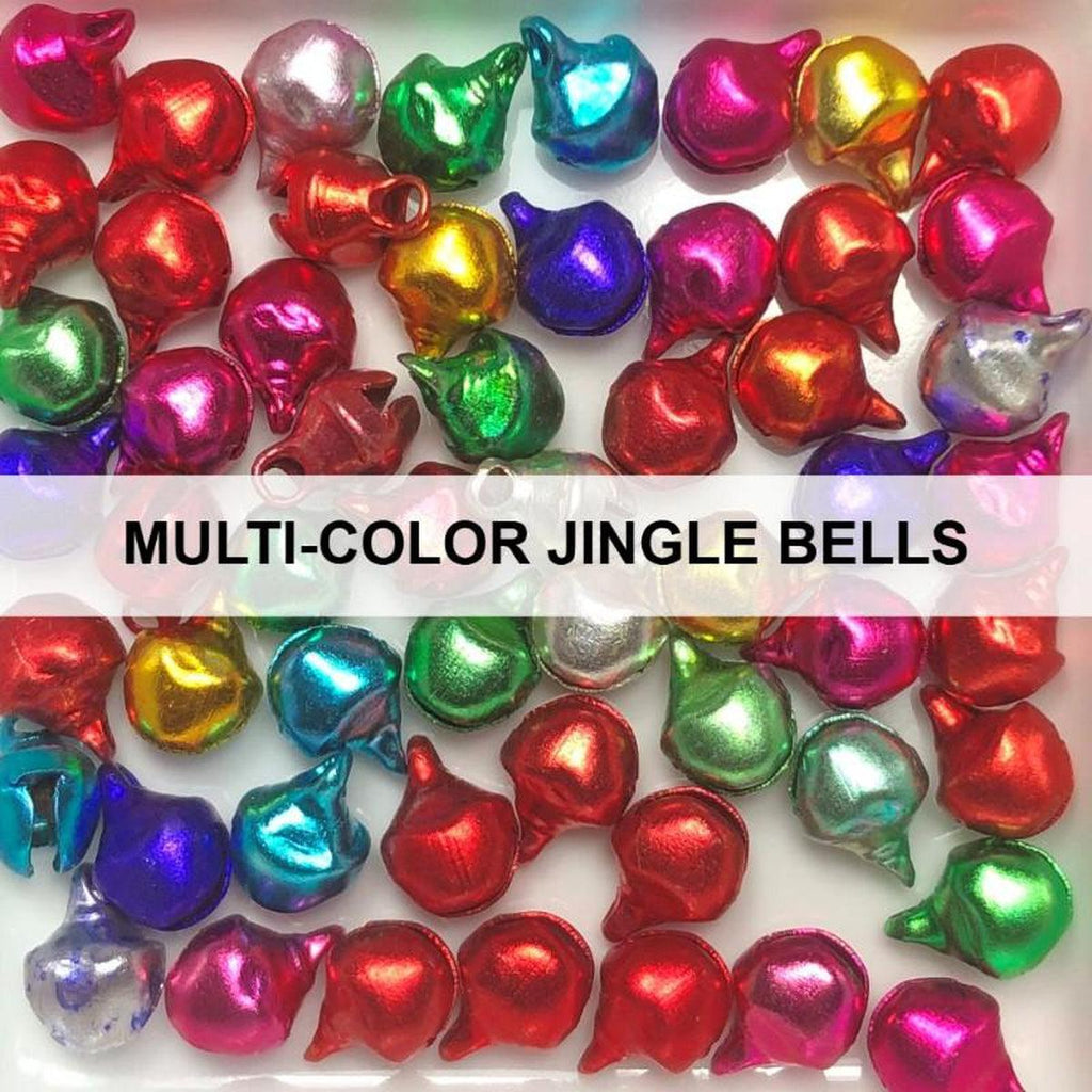 Multi-Colored Jingle Bells - Kat Scrappiness