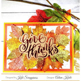 Give Thanks Word Die With Shadow by Kat Scrappiness - Kat Scrappiness