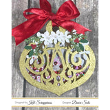 Ornate Christmas Ornament Shaker Card Kit by Kat Scrappiness - 039