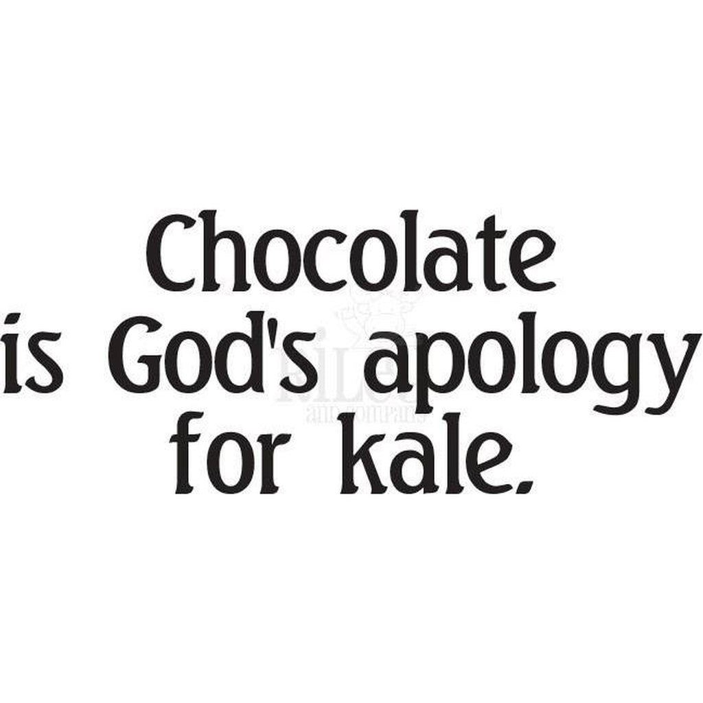 God's Apology Cling Stamp by Riley & Co - Kat Scrappiness