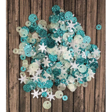 Snow Flurries Sequin Mix by Kat Scrappiness