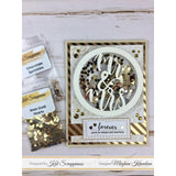 Chocolate Sprinkles Sequin Mix by Kat Scrappiness - Kat Scrappiness