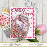 Candy Kisses Valentine Sequin Mix - Kat Scrappiness
