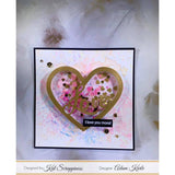 Love Heart Small Shaker Card Kit by Kat Scrappiness - 053 - Kat Scrappiness