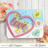 Pink Heart Sprinkles (Small) - Kat Scrappiness