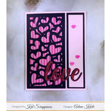 Hot Pink Heart Sprinkles - Kat Scrappiness