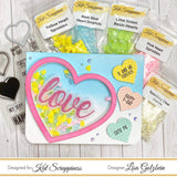 Yellow Heart Sprinkles by Kat Scrappiness - Kat Scrappiness