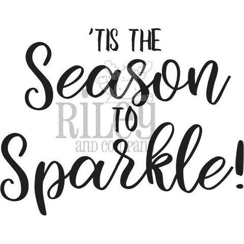 Season to Sparkle Stamp by Riley & Co